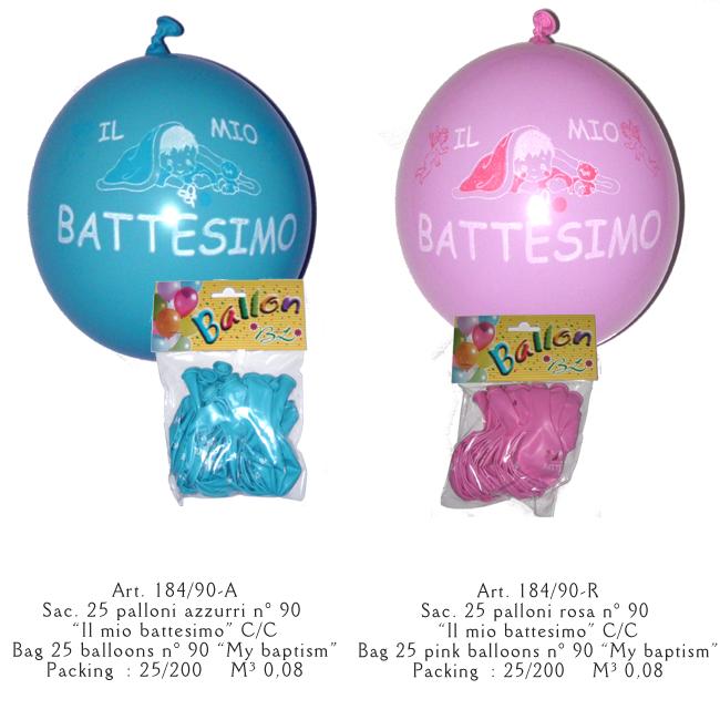 palloncini battesimo
