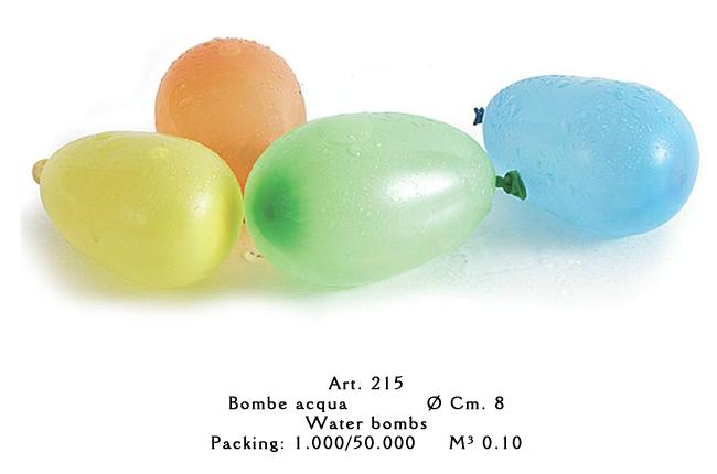 palloncini tondi colorati