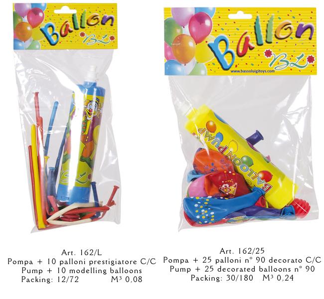 palloncini con pompetta