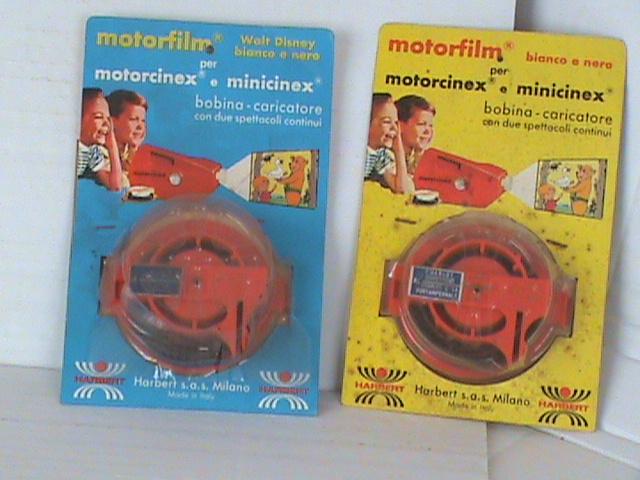 """Pellicole per Proiettore """"Minicinex"""""""