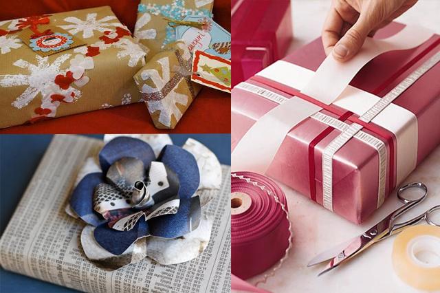 Popolare Pacchetti regalo di Natale originali e unici, fai da te col  LP82