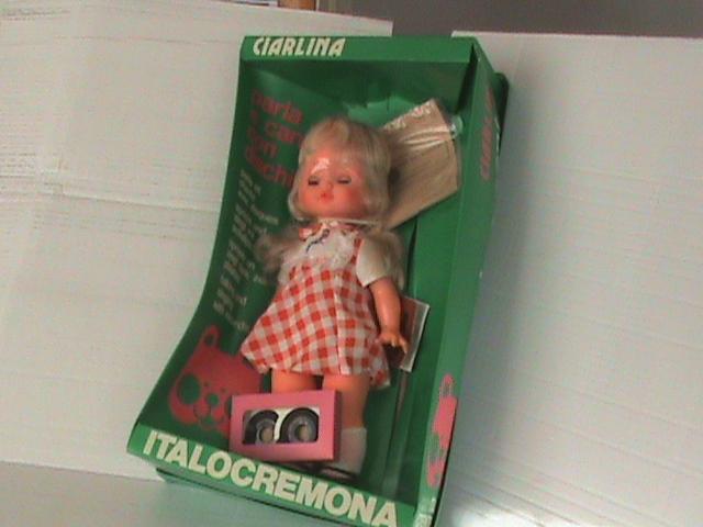 """Bambola """"Ciarlina"""""""
