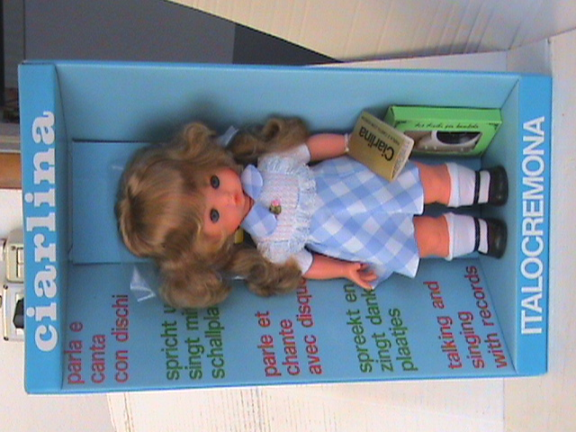 bambola ciarlina